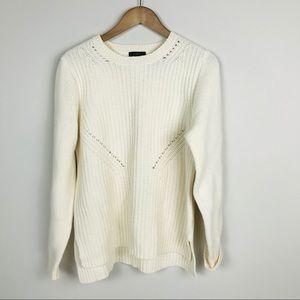 J. Crew Wool Crew Neck Sweater